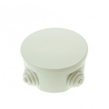Gewiss 80mm Circular Weatherproof Box