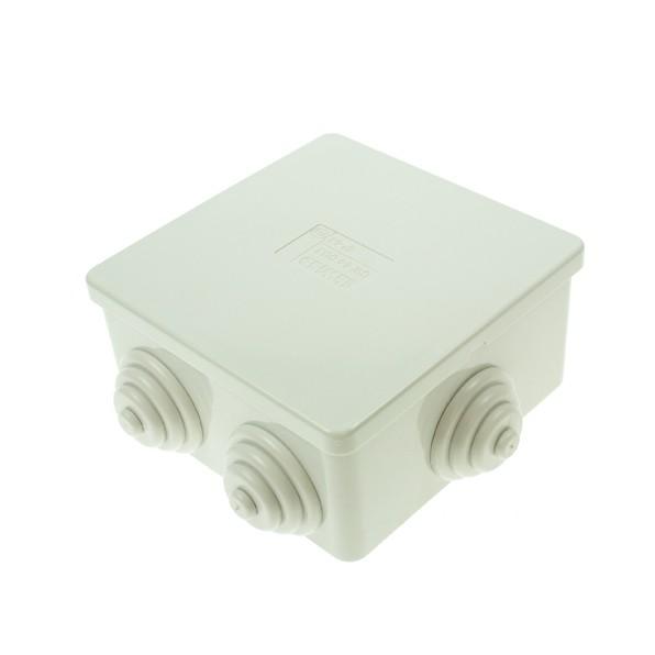 Gewiss 80x80x40mm Weatherproof Box Junction Boxes Uk Electrical Supplies