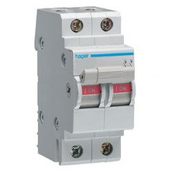 Hager 63amp 2 Pole Main Switch Isolator