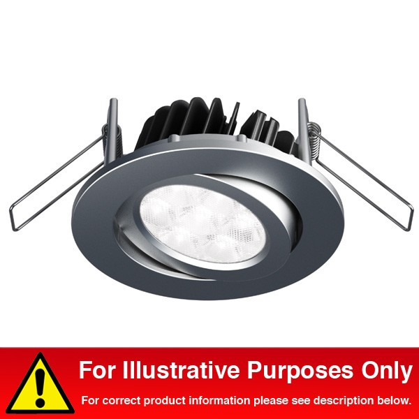 aurora lighting 350ma aluminium adjustable 8 5w dimmable led