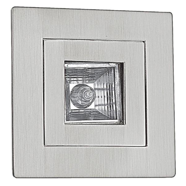 Mr16 Led Downlights Uk: Aurora Lighting 12V MR16 Aluminium Fixed Square Push Clip