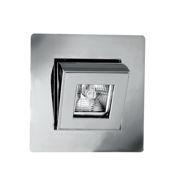 Mr16 Led Downlights Uk: Aurora Lighting 12V MR16 Aluminium Wallwasher Square Push