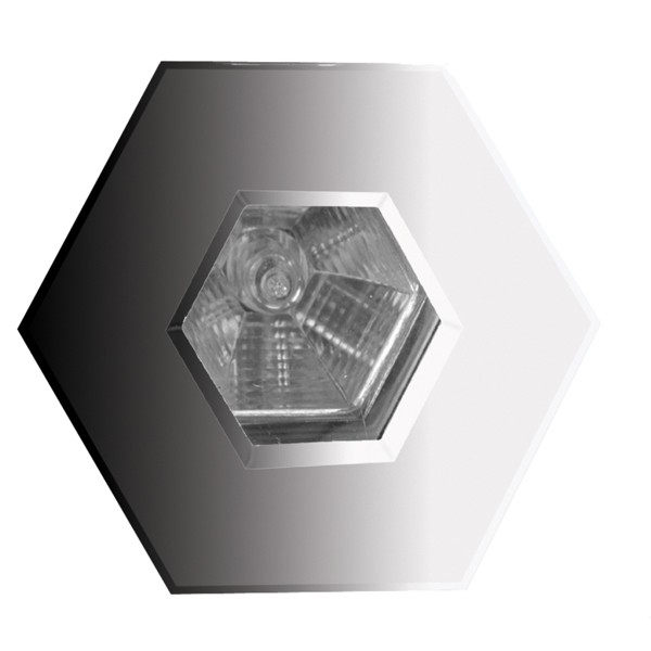 Mr16 Led Downlights Uk: Aurora Lighting 12V MR16 Aluminium IP65 Fixed Hexagonal