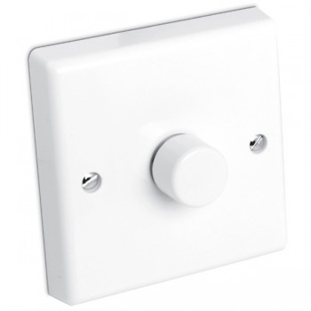 Aurora Lighting 60-400VA 1 Gang 2 Way Rotary Dimmer