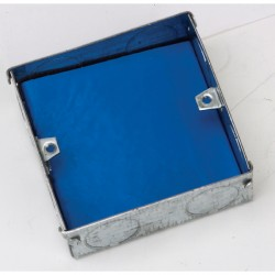 Aurora Lighting Intumescent Single Box Gasket Fire Protection Blue