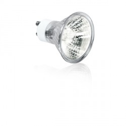 Aurora Lighting 240V 50W GU10 Aluminium Reflector Halogen Lamp