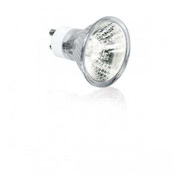 Aurora Lighting 240V 50W GU10 Aluminium Reflector Halogen Lamp