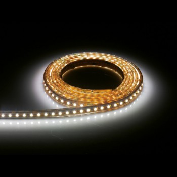 Aurora Lighting 24V DC Single Colour Flexible High Density LED Strip Light White