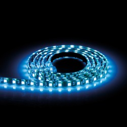 Aurora Lighting 24V DC IP68 Single Colour Flexible High Density LED Strip Light Blue