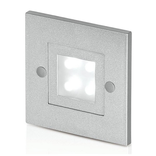All Square Wall Lights : Aurora Lighting 240V Cast Aluminium Square LED Wall Light at UK Electrical Supplies.