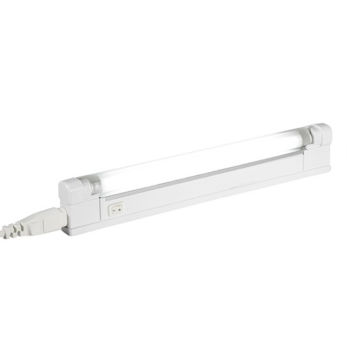 Under Cabinet Led Strip Light Fitting 5w Warm White 303mm: Aurora Lighting 240V T4 Polycarbonate Fixed Fluorescent