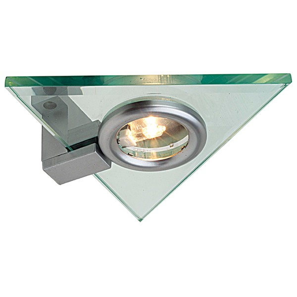 Aurora Lighting 12v G4 Glass Fixed Triangular Halogen