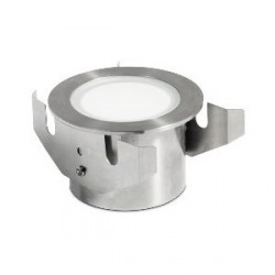 Aurora Lighting 3W Stainless Steel 316 IP68 Fixed LED Marker Light Warm White