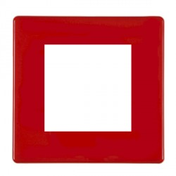 Hamilton Hartland CFX EuroFix Plates White Single Plate c/w 2 EuroFix Apertures + Grid
