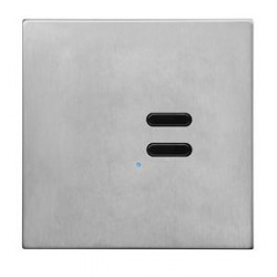 Wise Controls Switch 2 Channel 3V Satin Stainless