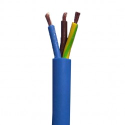 100 Meter Drum of 2.50mm 3 Core Blue Arctic Cable