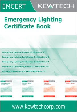 Campus emergency preparedness cert emergency lights for Emergency lighting test certificate template