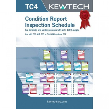 Kewtech Condition Report Inspection Schedule up to 100A