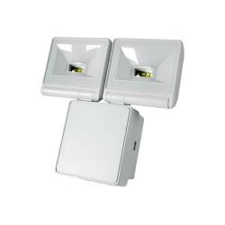 Timeguard 2x 8W LED Energy Saver Floodlight in White