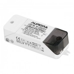 Aurora Lighting 10W 12V DC Dimmable Constant Voltage LED Driver