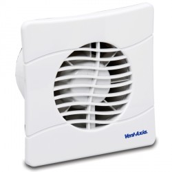 Vent-Axia Basics 150 mm Extractor Fan with Overrun Timer BAS150SLT