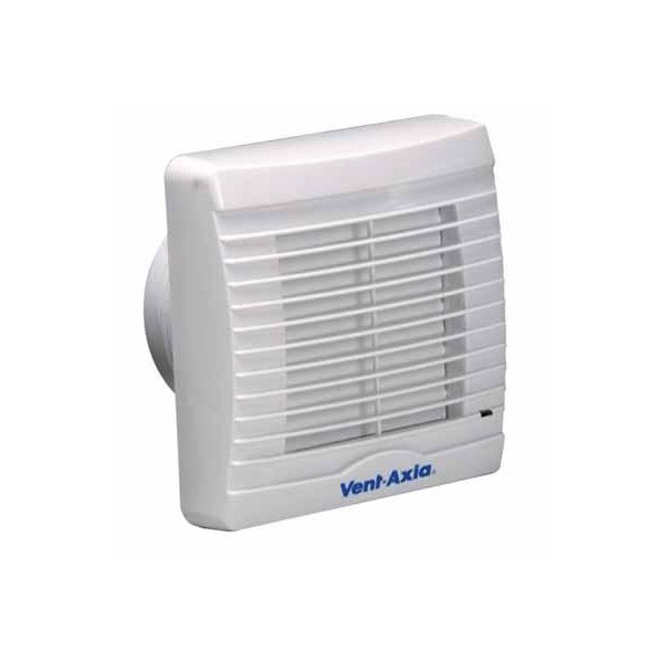 Vent Axia VA100XT 100 Mm Bathroom Extractor Fan With Shutters And Timer  251410