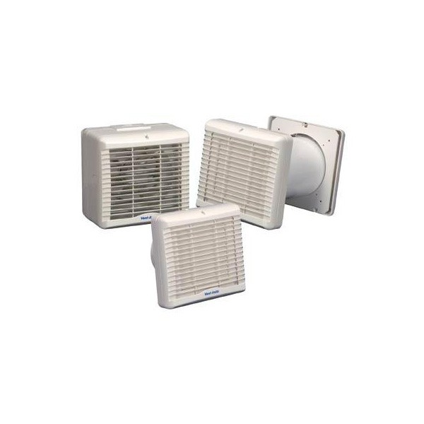 Vent axia va140 150vs axial kitchen or utility fan with for Kitchen set environment variables