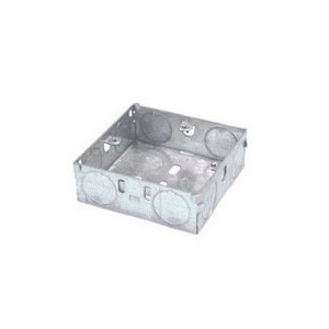 Norslo Switch and socket box Steel 1 Gang 16mm