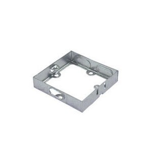 Norslo Extension box Steel 1 Gang 16mm