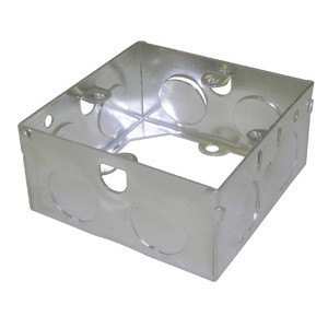 Norslo Extension box Steel 1 Gang 35mm