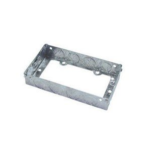 Norslo Extension box Steel 2 Gang 25mm