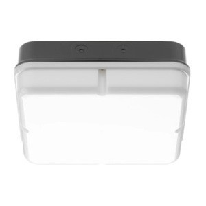 Greenbrook Bulkhead 2D Square Black Prismatic 16W