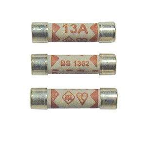 Norslo Fuse 3A To BS1362 for Plug top at UK Electrical Supplies