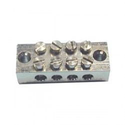 Norslo Earth block Brass 4 way