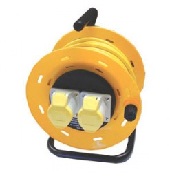 KingShield Open Cable Reel 110V 25m
