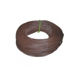 Norslo Sleeving Brown 4mm 100m Hank