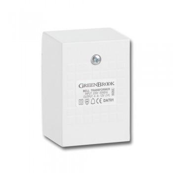 Greenbrook Bell/Chime Transformer 4/8/12V 1amp
