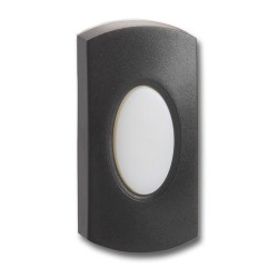 Greenbrook Chime Push Illuminated Black