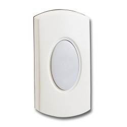 KingShield Chime Push Illuminated White
