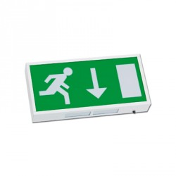 KingShield Emergency Exit Sign Maintained, Non-Maintained
