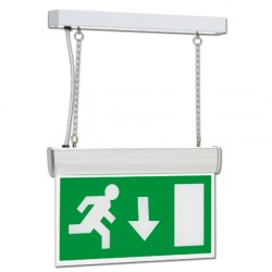 KingShield Emergency Hanging LED Maintained