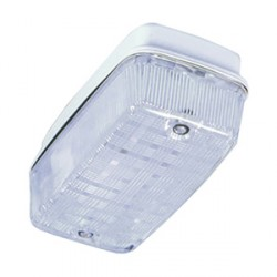 KingShield Bulkhead polycarbonate IP65 uses 1 x 9W PL