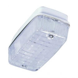 Greenbrook Bulkhead polycarbonate IP65 uses 2 x 9W PL