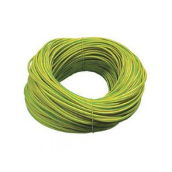Norslo Sleeving Green/Yellow 4mm 100m Hank