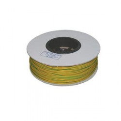 Norslo Sleeving Green/Yellow 100m Reel 4mm