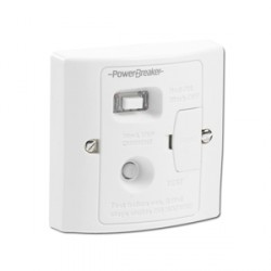 PowerBreaker White 13A RCD Fused Spur