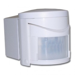 KingShield PIR External White 180 Degrees 1.2kw