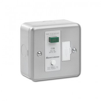 Greenbrook SafetySure Metalclad RCD Fused Spur
