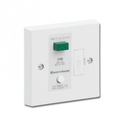 Greenbrook SafetySure White RCD Fused Spur
