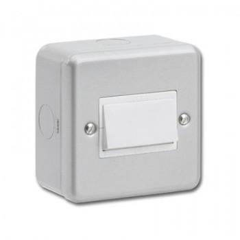 Kingshield Metalclad 1 Gang 10A Triple Pole Fan Isolator Switch